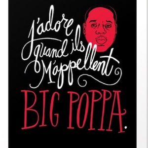 Society6 🖤 Notorious BIG ❤️ Big Poppa Art Print